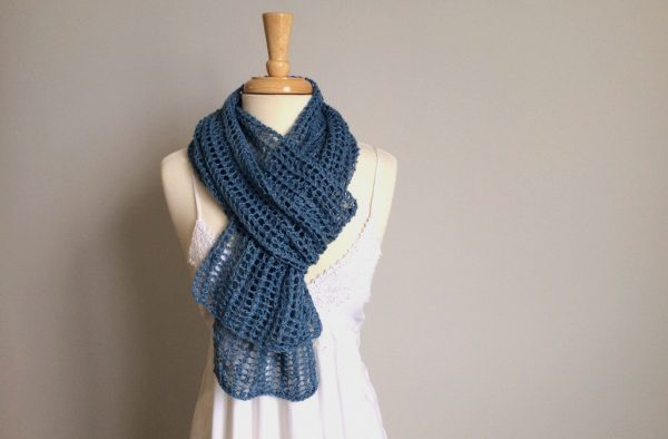 Firefly Mesh Knit Scarf