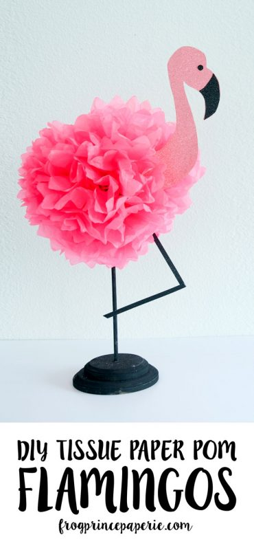 DIY Pink Flamingo Decor