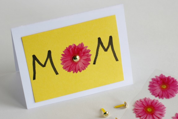 Flip Card MOM for WOW for Mother's Day