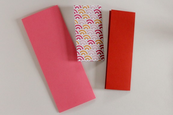 Folded paper for airplane heart cards @makeandtakes.com
