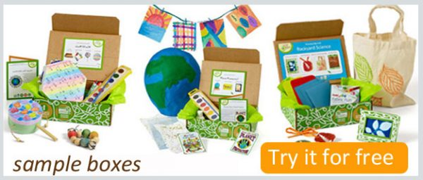 Free Green Kid Crafts Trial