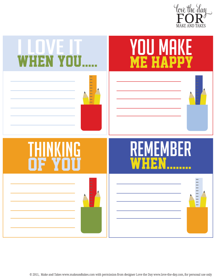 image about Printable Lunchbox Notes called Cost-free Printable Lunchbox Notes Generate and Usually takes