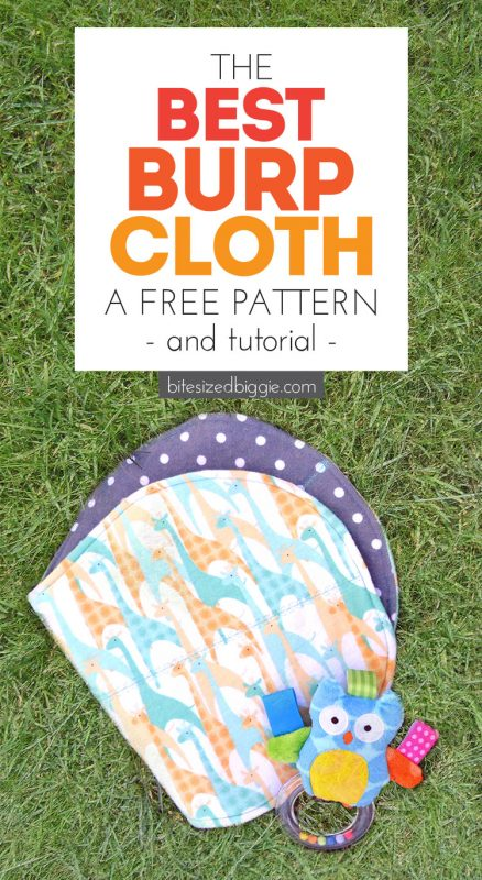 Free Burp Cloth Pattern