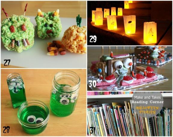 Frightfully Fun Halloween Crafts makeandtakes.com