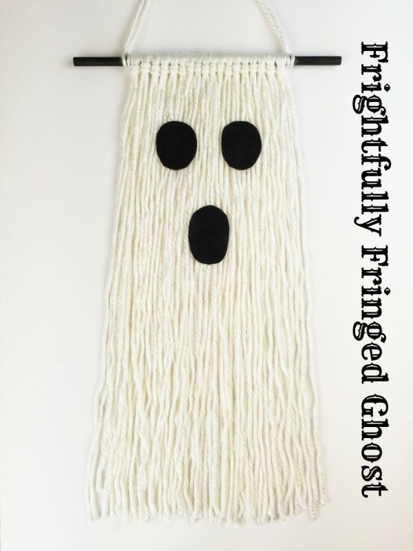 Fringe Ghost Wall Hanging