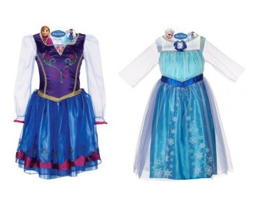 Frozen Party Dress Costumes