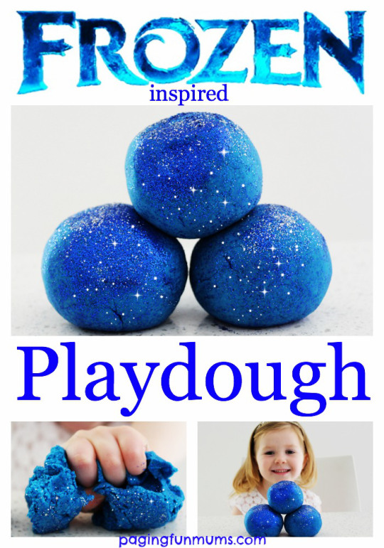 Frozen Playdough Recipe