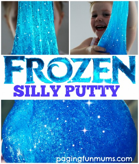 How to Make Frozen Silly Putty