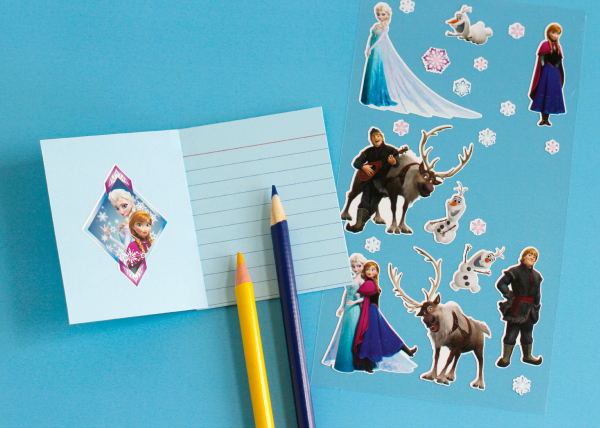 Frozen Stickers to Make Kid Crafty Story Starters