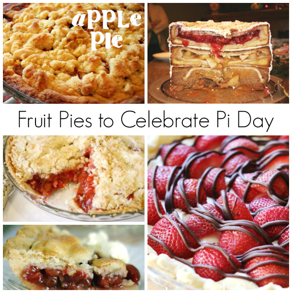 Fruit Pies to Celebrate Pi Day