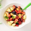 Summer Fruit Salad with Honey Orange Glaze