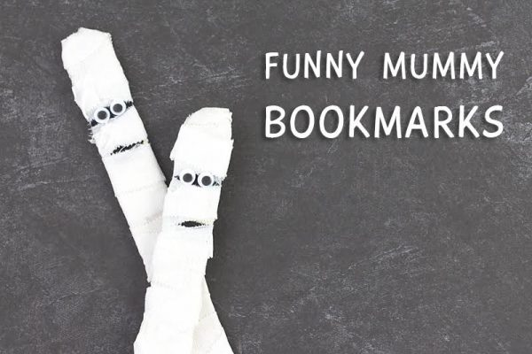 Funny Mummy Bookmarks