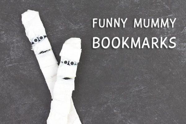 Funny Mummy Bookmarks