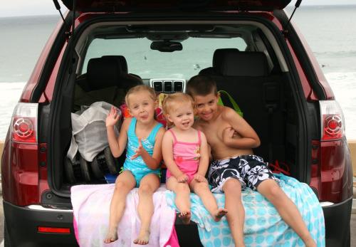 GMC Acadia Beach Trip