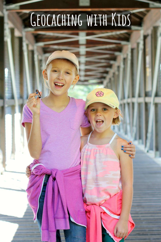 Geocaching Treasure Hunting with Kids