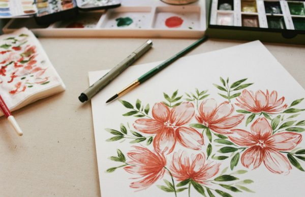 Gift Giving Ideas for Mother's Day Painting Class