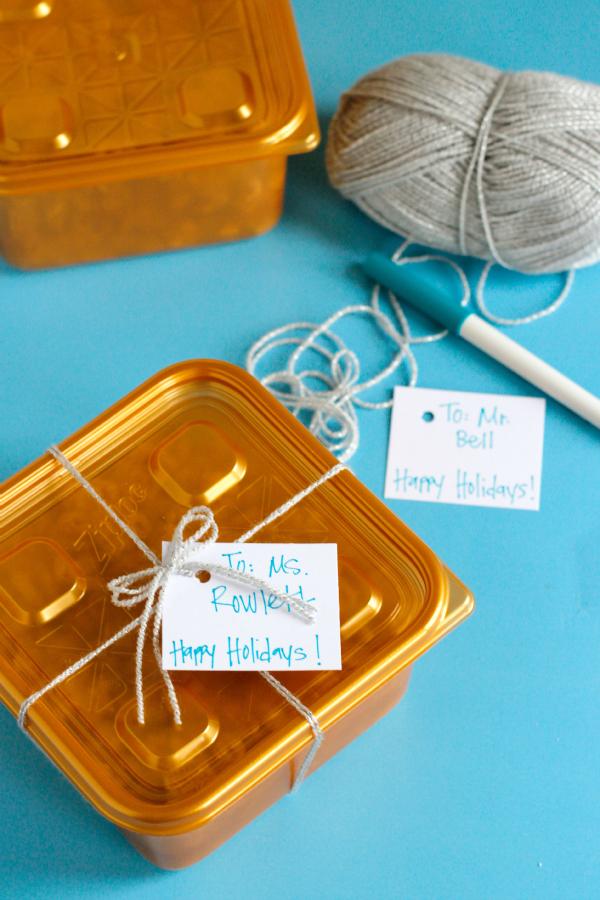 Gift Giving Treat Ideas for Teachers