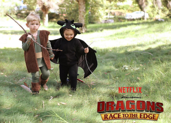 Gina Lee Dragons - Race to the Edge Netflix