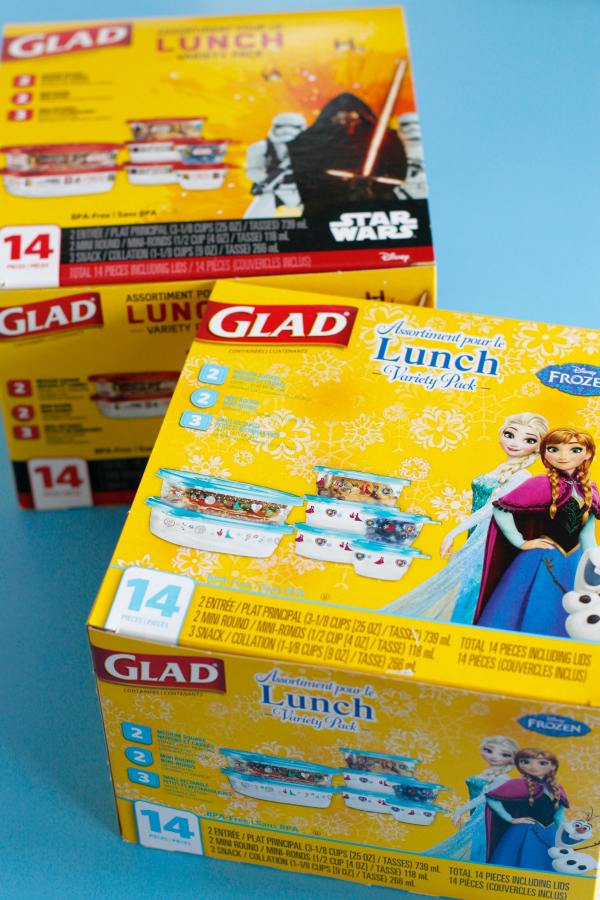 Glad Lunch Packs