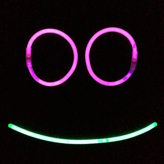 Glow Stick Night Games Fun Shapes