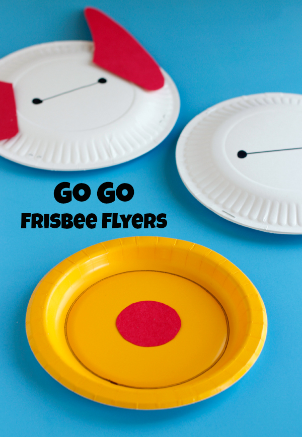 Go Go Big Hero 6 Frisbee Flyers