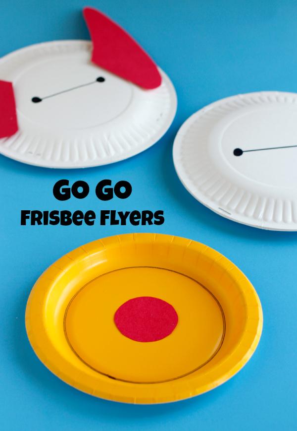 Go Go Big Hero 6 Frisbee Flyers