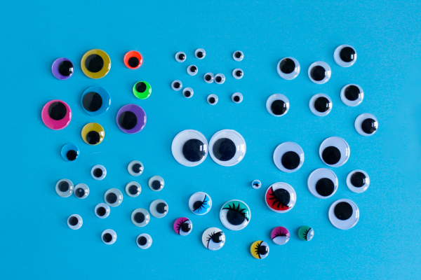 Googly Eyes in all colors and sizes