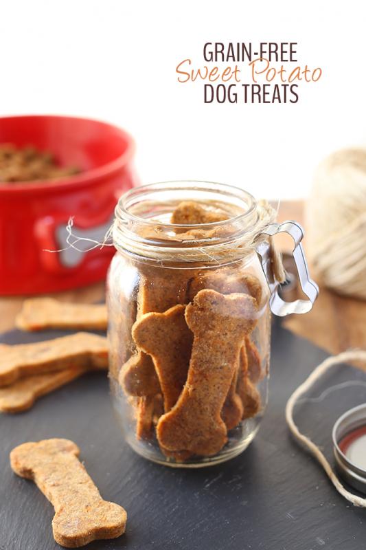 Grain-Free Sweet Potato Dog Treats
