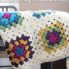 Granny Square Blanket Tutorial makeandtakes.com