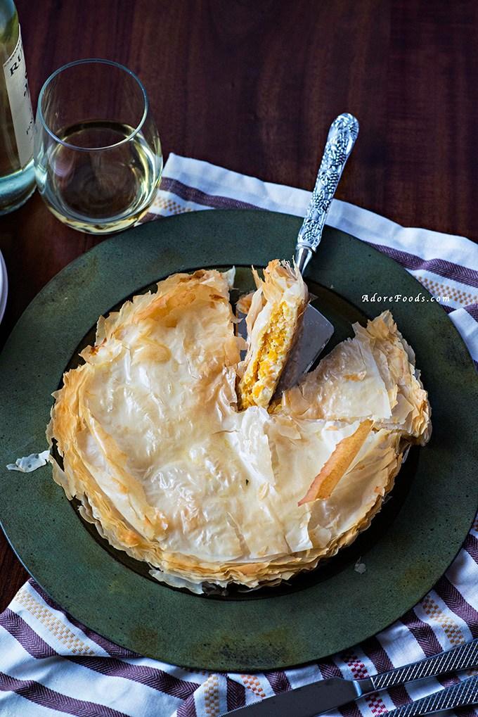 Greek-Pumpkin-and-Feta-Cheese-Pie-Kolokithopita