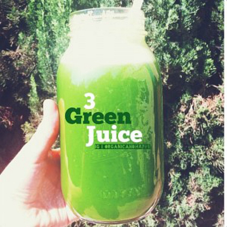 Green Juice Organic Happy