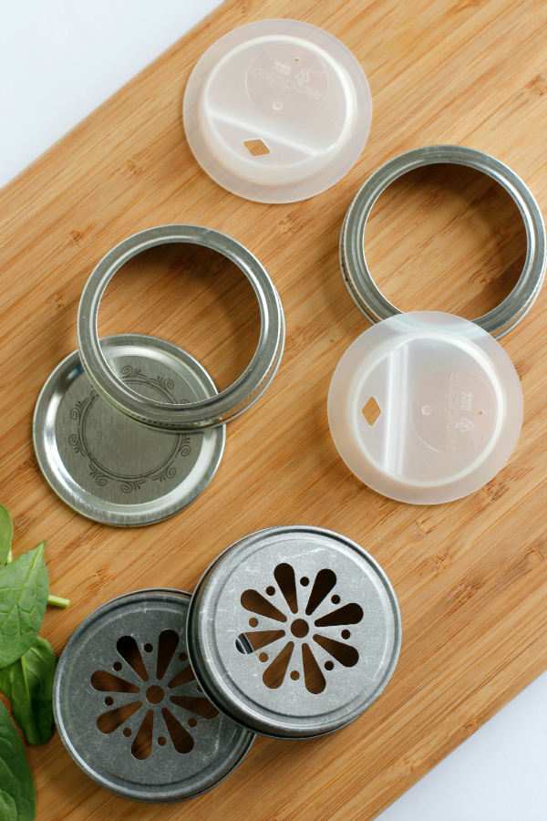 Green Smoothie Lids