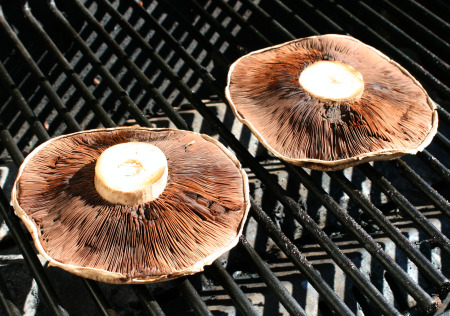 Grilled Portabello Mushrooms Grilling
