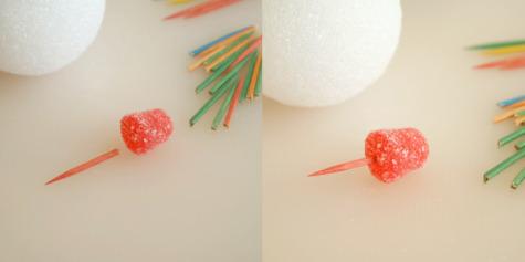 Gumdrop Tree Toothpicks
