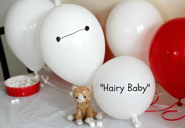 Hairy Baby Big Hero 6 Birthday Party