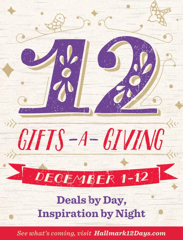 Hallmark 12 Gifts-a-Giving
