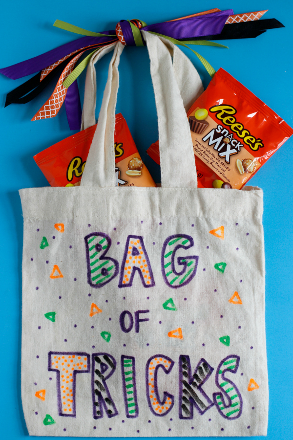 Halloween Bag of Tricks Craft
