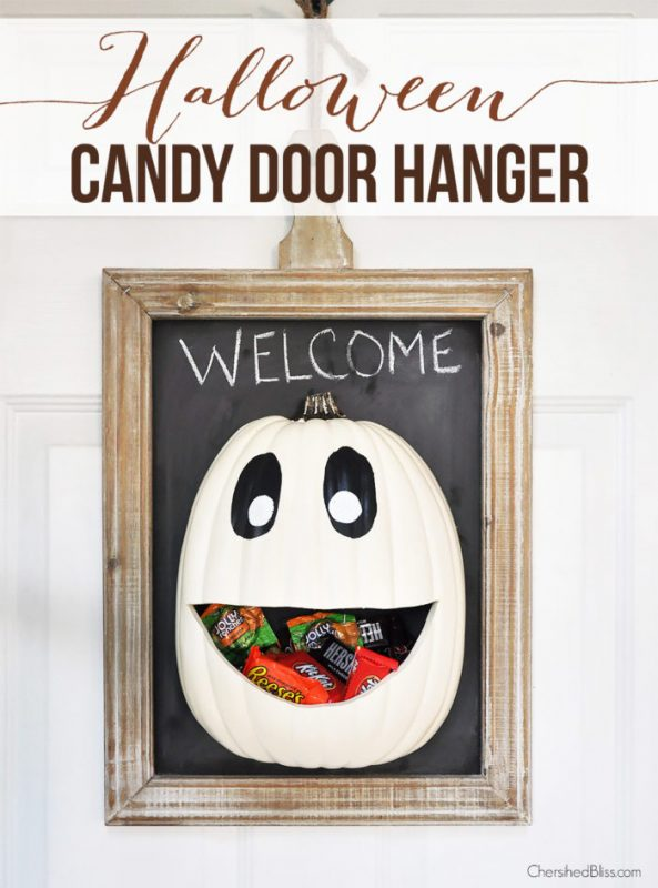 DIY Halloween Candy Door Hanger