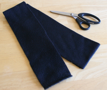 Handmade Fleece Scarf