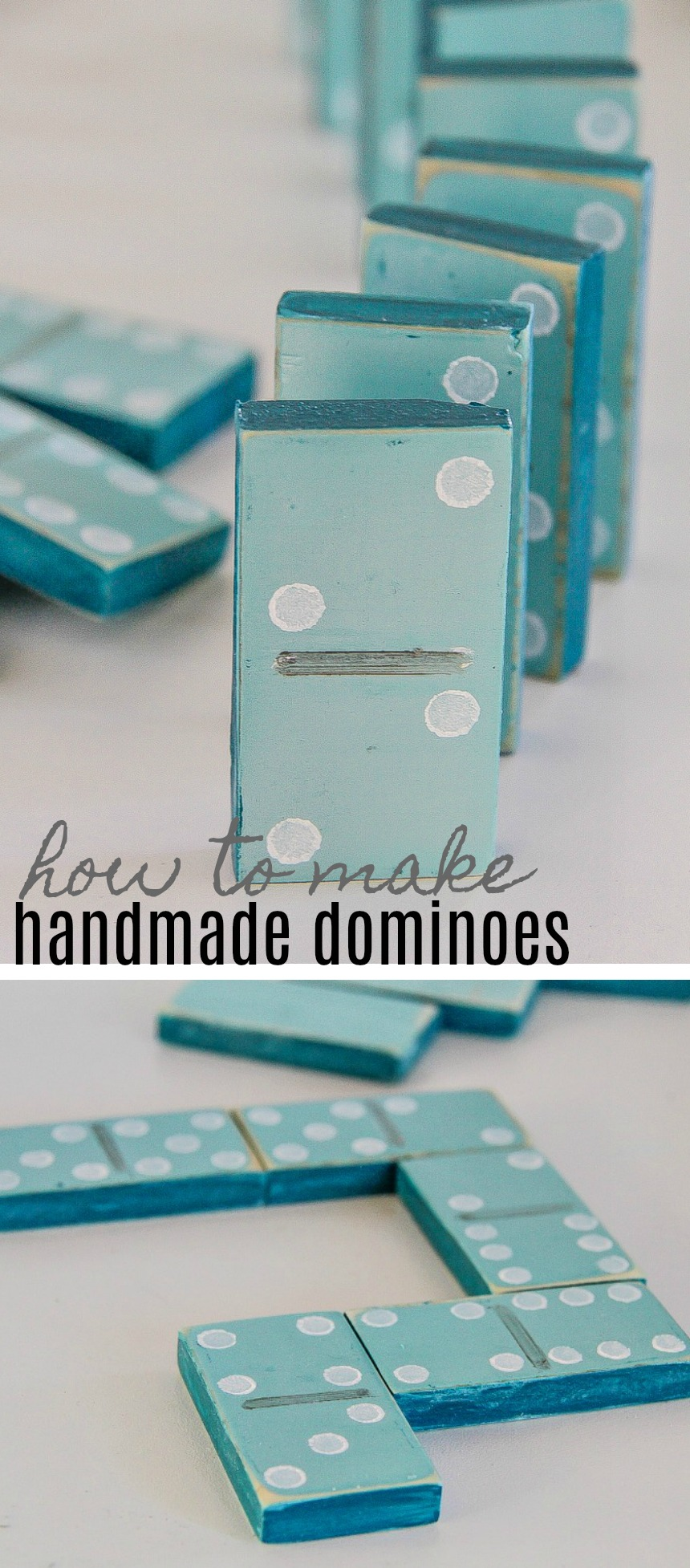 How to Make Handmade DIY Dominoes
