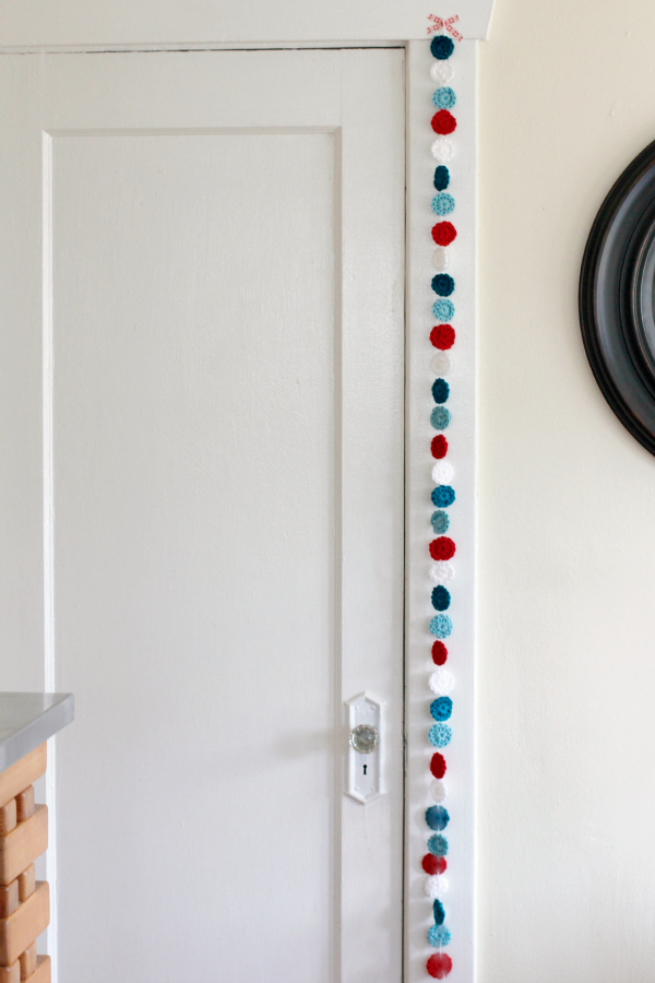 Hanging Crochet Garland