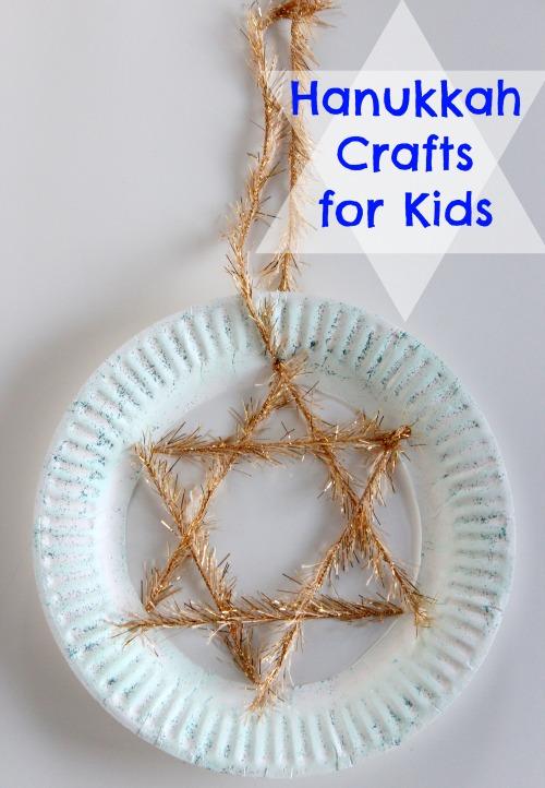 Paper Plate Star Of David Hanukkah Craft Lesson Plans