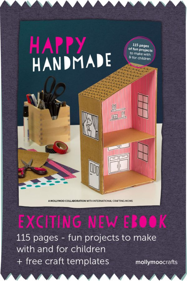 Happy Handmade eBook for Kids Crafts
