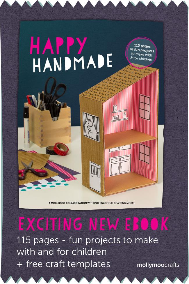 Happy Handmade eBook for Kids Crafts