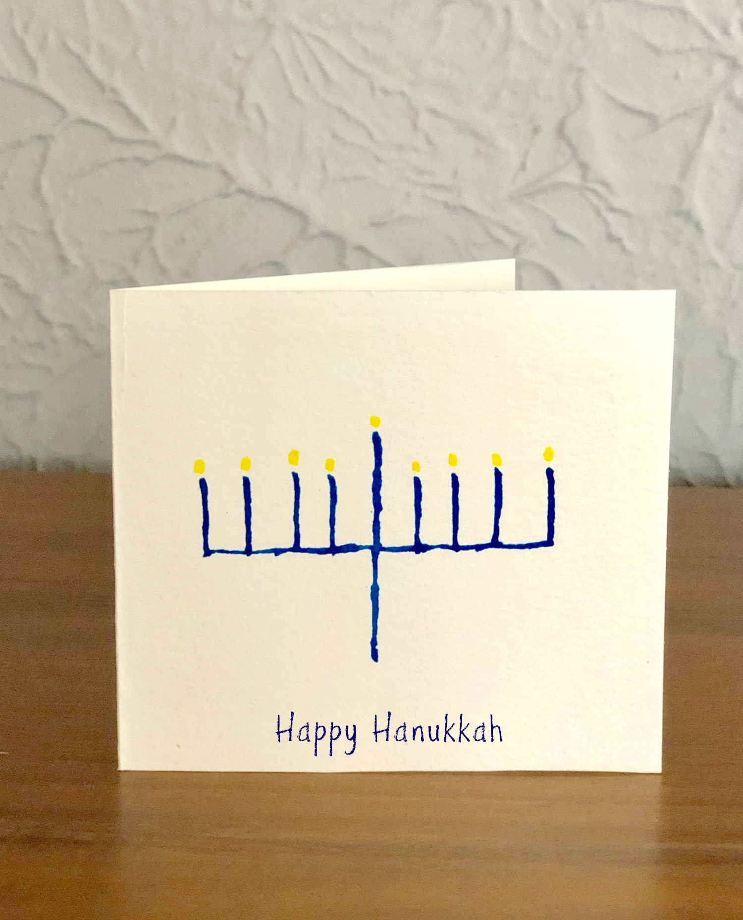 Happy Hanukkah Watercolor Cards
