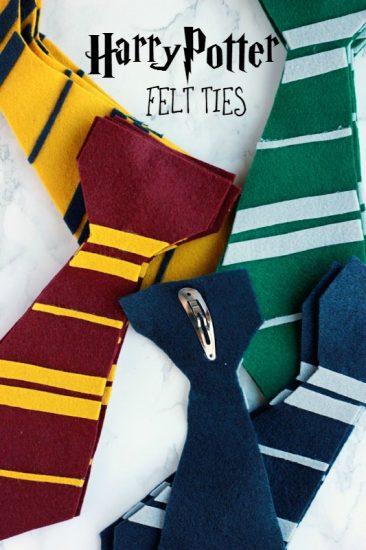 Harry-Potter-Felt-Ties