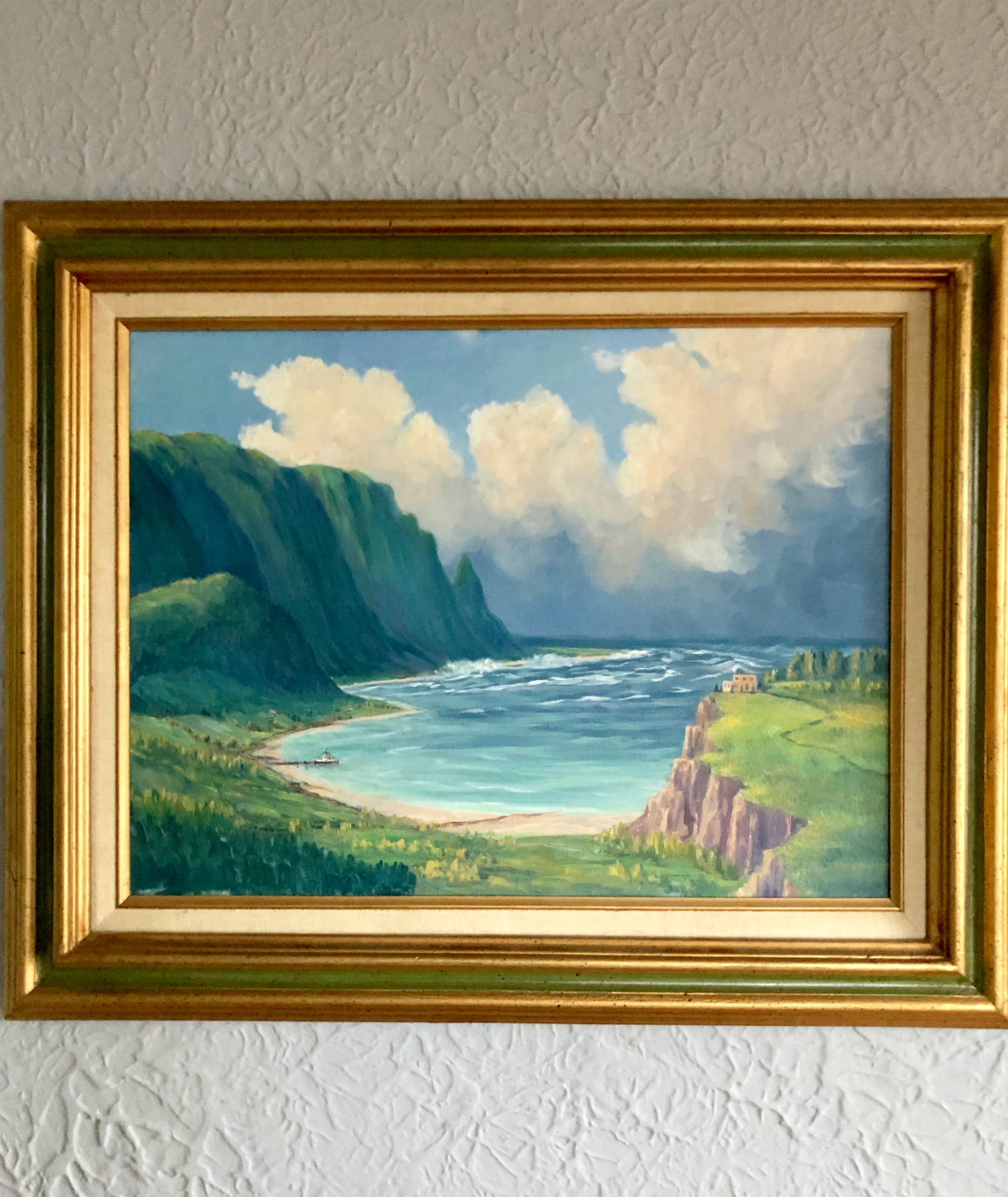 Hawaii Landscape Oil Painting on Canvas