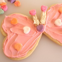 Heart Shape Critter Cookies
