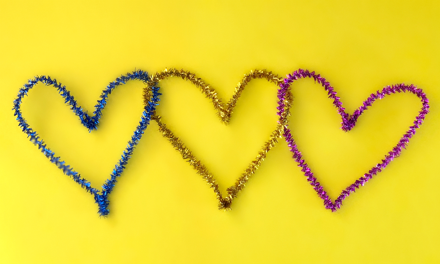 Heart Chain Link Pipe Cleaners