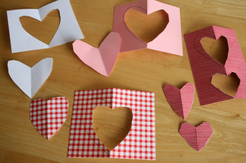 Heart Cutting for Valentine's Crafts